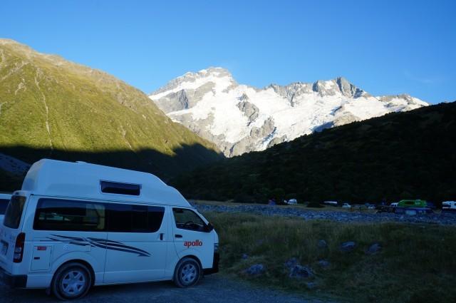 Campsite at Mt. Cook