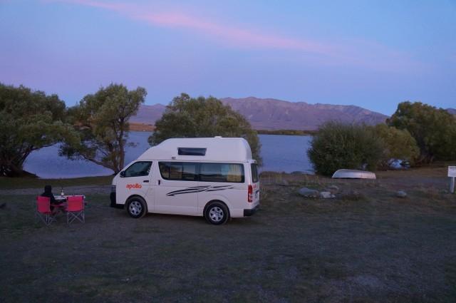 Campsite @ Lake McGregor