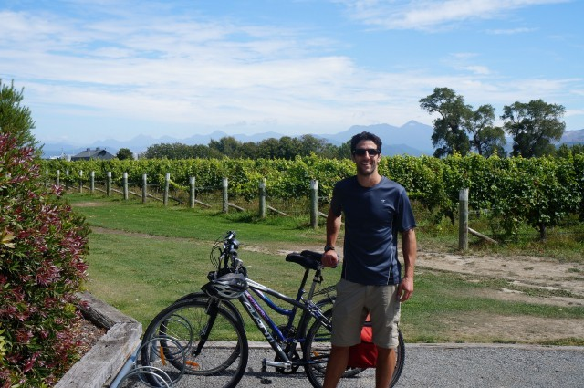 Mike at Cloudy Bay Winery