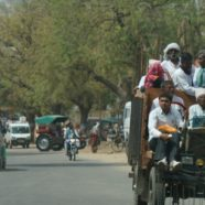 Driving through Rajasthan