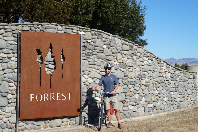 Mike at Forrest Winery