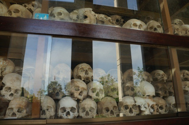 Skulls of those that died