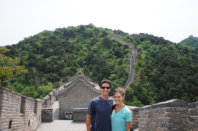 Mike and Kat Great Wall of China