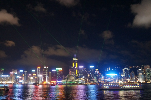 Hong Kong Symphony of Light Show