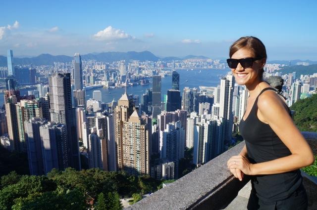 Kat Hong Kong Skyline from The Peak