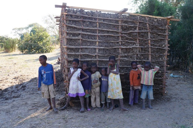 Local Mwandi children
