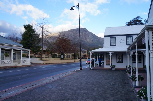 Franschoek Main Street