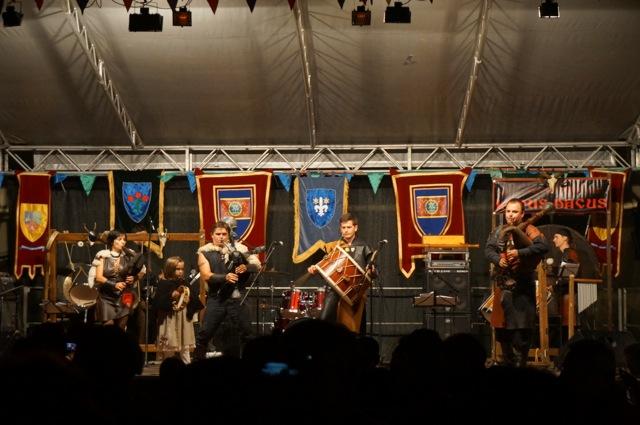 Traditional Romanian band